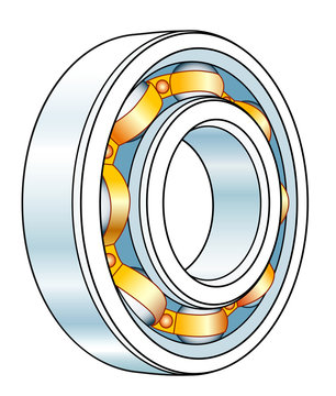 Ball bearing tool illustration