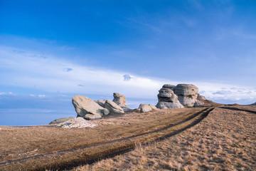 Mountain range Demerdzhi, the Republic of Crimea.