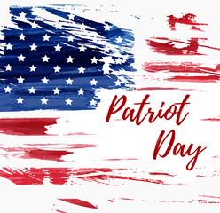 USA Patriot day background