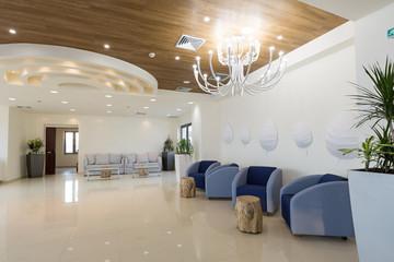 Hotel lobby, lounge, interior