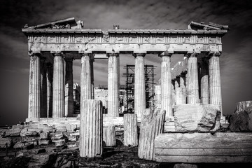 Fototapete - Parthenon on the Acropolis in Athens