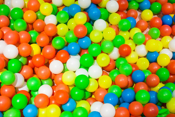 Colorful ocean ball