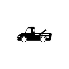 wrecker machine icon. Element of popular car icon. Premium quality graphic design. Signs,  symbols collection icon for websites, web design, mobile app