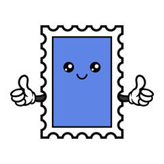Cartoon Stamp Character
