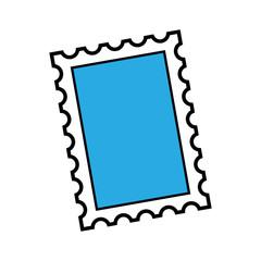 Cartoon Stamp Illustration