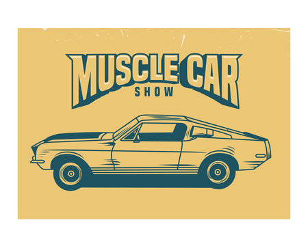 muscle car classic vintage retro old school antique image