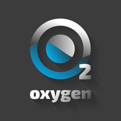 Oxygen Vector Icon