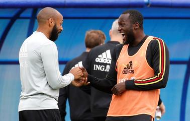 World Cup - Belgium Training