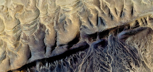 The border, abstract photography of the deserts of Africa from the air, Photographs magic, just to crazy, artistic, landscapes of your mind, optical illusions, abstract art,