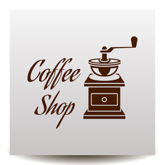 Coffee shop logo - vector illustration