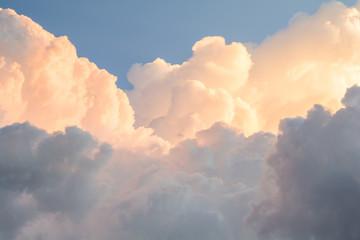 Beautiful sky in the evening cloud