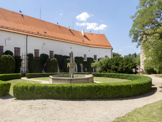 Bitov Castle from 1061 is a cultural monument, the Czech Republic