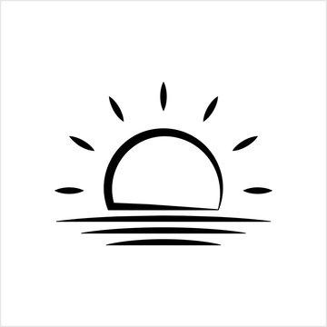 Sunrise Icon, Sun Rise