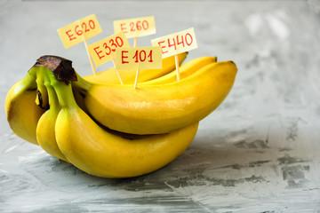 Banana Fruit with natural E additives