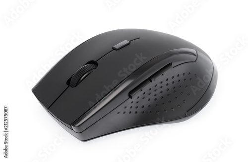 6aca0e6effd Wireless computer mouse isolated on white background
