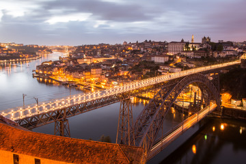 Bridge Luis II, Porto, Portugal
