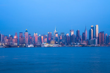 Skyline of midtown Manhattan, New York City, NY, USA