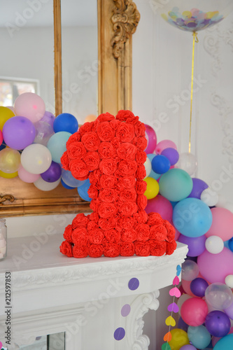 Decorations For Birthday Party A Lot Of Balloons Best