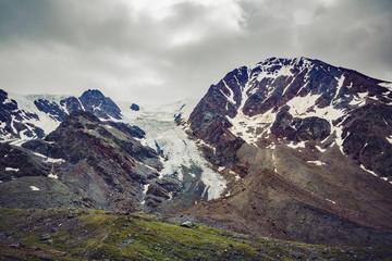 Val Cedec (IT) - Monte Cevedale e ghiacciaio