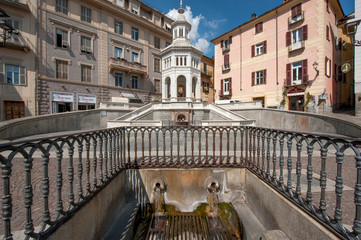 Piazza Bollente Acqui Terme