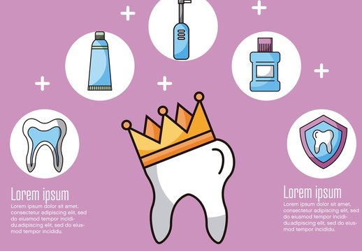 Dentist Infographic Layout