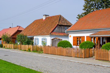 Traditional cottages in Tykocin - Poland
