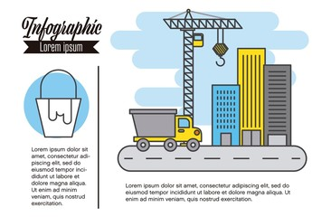 Construction Infographic Layout