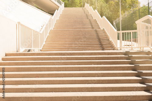 Stairs To The City, Granite Stairs, Wide Stone Stairs, Wide Stone Stairs,