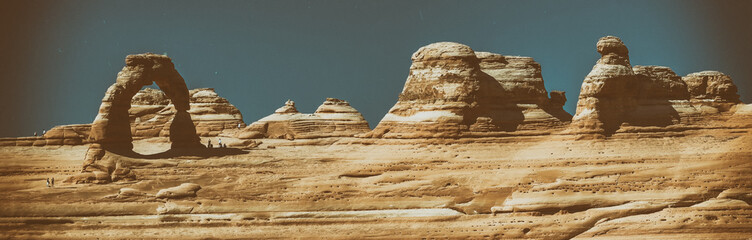 Fototapete - Delicate Arch in Arches National Park, Utah