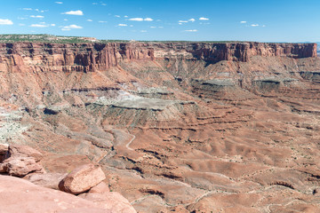 Dead Horse Point State Park aerial view, Utah