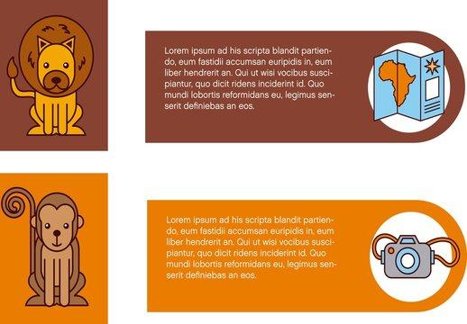 Safari Infographic Layout