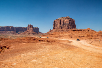 Road of Monument Valley, USA