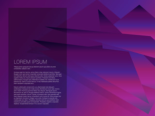 Abstract modern background with gradient