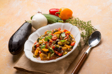ratatouille traditional french recipe