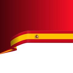 Spain flag concept