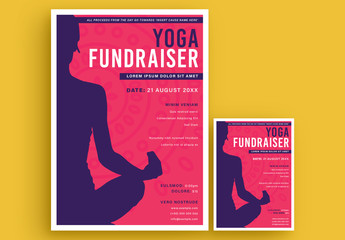 Fundraiser Poster Layout