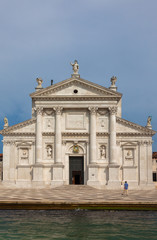 The Chiesa del Santissimo Redentore, commonly known as Il Redentore, is a 16th-century Roman Catholic church located on Giudecca in the sestiere of Dorsoduro, in the city of Venice, Italy