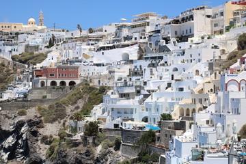 Vacanza in famiglia a Santorini