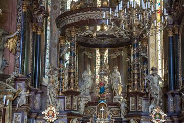 Bogate Wnętrze Katedry w Świdnicy