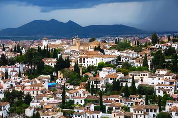 View of  Granada cityspace