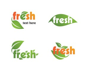 Fresh logo vector
