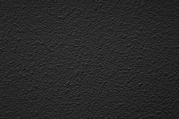 Black cement wall texture and background