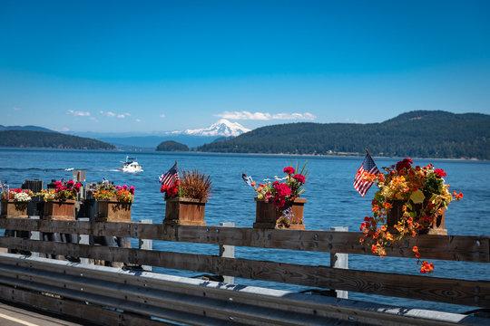 Lopez Island Ferry Dock