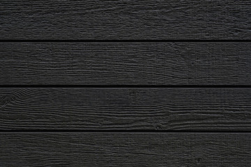 Black wood wall pattern and seamless background