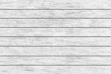 Vintage white wood wall pattern and background