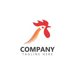 Chicken Company Logo Vector Template Design Illustration