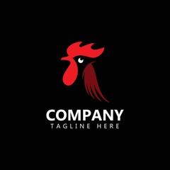 Chicken Company Logo Vector Template Design Illustration