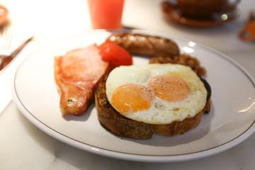 メルボルンの朝食