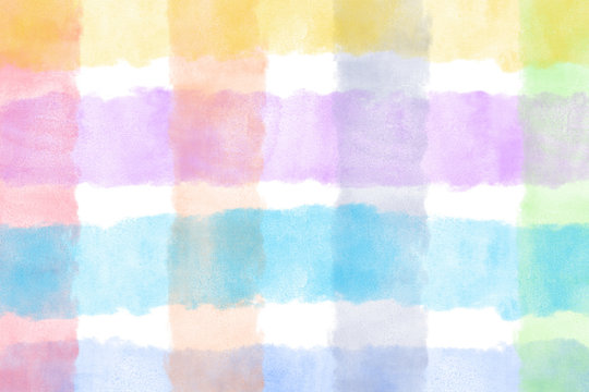Abstract watercolor striped background