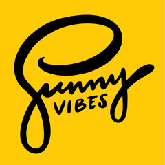 Summer vibes hand drawn vector lettering isolated on background.